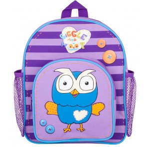 Giggle and Hoot Backpack Bag Purple
