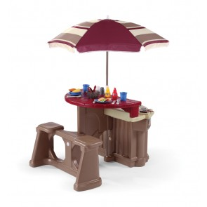 Grill and Dining Toy Set