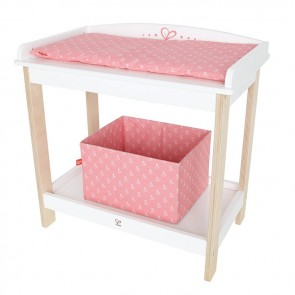 hape toy baby changing table