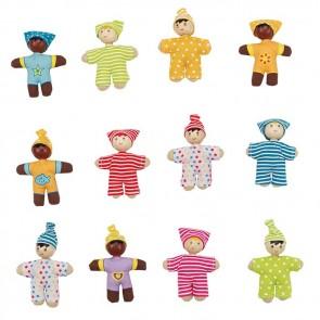 hape baby doll set 12 babies