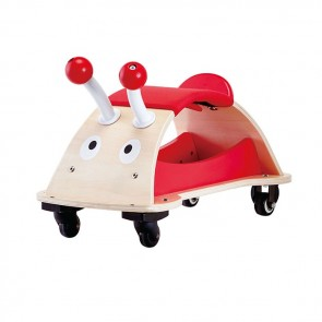 hape ride-on bug toy