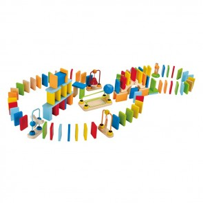hape dominoed wooden block