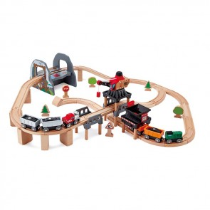 Hape Lift and Load Mining Play Set