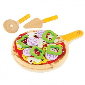pizza wood toy hape