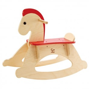 hape rocking horse toy