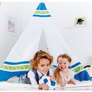 pretend play indian teepee tent