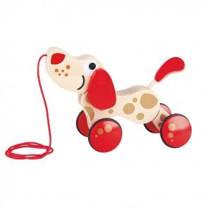 Hape Walk Puppy Wooden Pull Toy