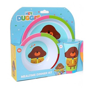 Hey Duggee kids mealtime Set