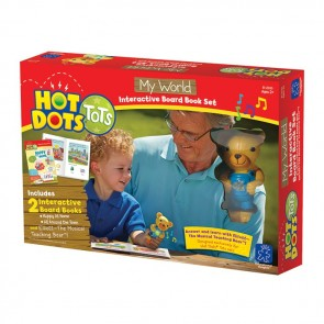 Hot Dots World interactive Book