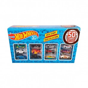 Hot Wheels 50 Cars Toy Set