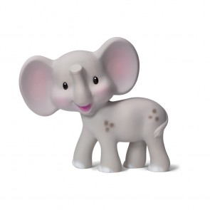 Elephant Teether Grey Infantino