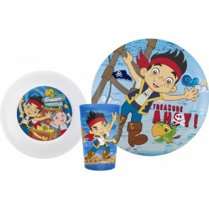 cup plate bowl jake pirates