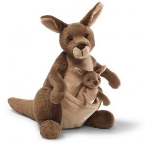 jirra baby joey plush kangaroo