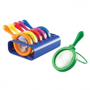 Jumbo Magnifiers with Stand Set of 6