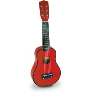 Red Guitar toy by Vilac