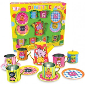 vilac tea party teapot play set