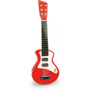 Red Rock and Roll Guitar by Vilac