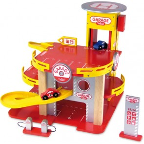 The Racing Garage tower by Vilac