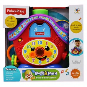 fisher price LAUGH N LEARN PEEK N BOO CUCKOO