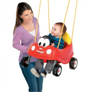 little tikes cozy coupe kids swing toy
