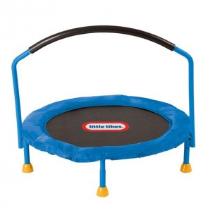little tikes small trampoline