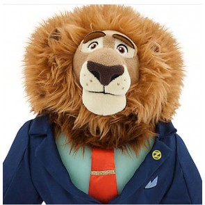 Mayor Leodore Lionheart Plush Zootopia doll