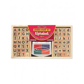 Melissa & Doug letter Stamp Set