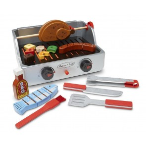 Melissa & Doug - Rotisserie & Grill Barbecue Toy Set