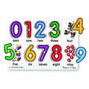 Melissa & Doug - Numbers Peg Puzzle