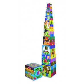 melissa & doug learning Alphabet Stacking Blocks