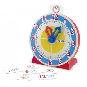 Melissa & Doug - Turn & Tell Clock Learning Clock