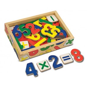 melissa and doug Magnetic Wooden Number