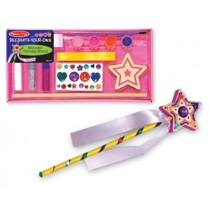 Melissa & Doug Wooden Princess Wand DYO