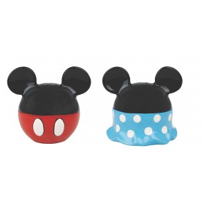 Mickey Minnie Mouse Salt Pepper Shaker ceramic