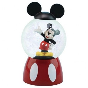 Disney Snow Globe Mickey Mouse Sparkler