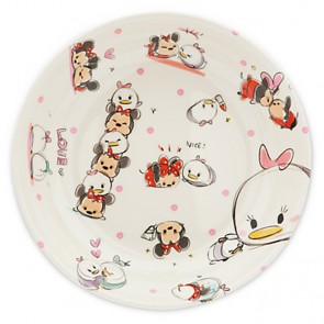 disney mickey Mouse Tsum Tsum plate
