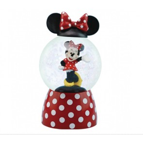Disney Snow Globe minneie Mouse Sparkler