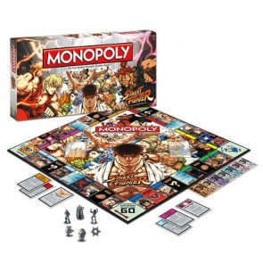 board  game monopoly  street fighter