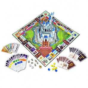 Disney Monopoly Board Game Disney Theme Park Edition III