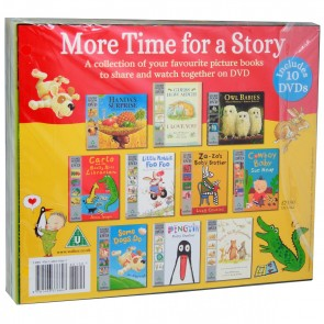 More Time for a Story 10 Book DVD set