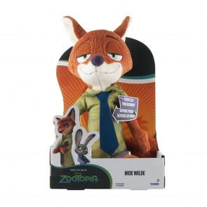 nick wilde plush large tomy talking