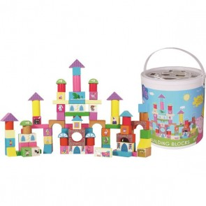 Peppa Pig 100 building blocks Set