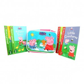 Peppa Pig lunch Bag With Children Books