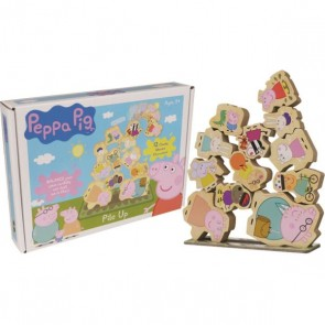 Peppa Pig Pile Up Game Toy