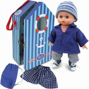 Doll Finistere Petitcollin baby