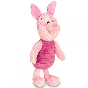 "DISNEY WINNIE THE POOH PIGLET 7"" PLUSH TOY KIDS TOYS"