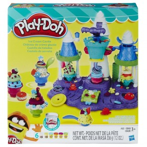 play doh ice cream play set