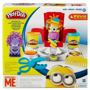 PLAY-DOH DISGUISE LAB MINIONS