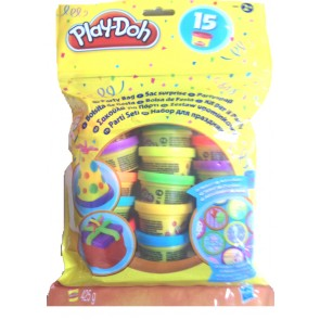 Play-Doh Party Bag 15 Cans colour