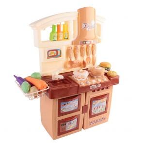 Kitchen Pretend Play Set Orange